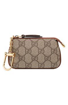 5a3ffcfe61c4 New Gucci Linea GG Supreme Canvas Key Case Pouch. Women s Fashion Handbags    270