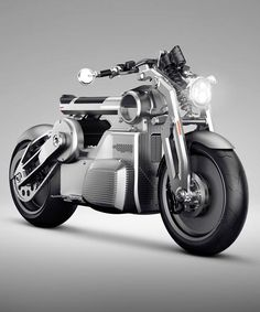 the curtiss zeus is the world's first 'e-twin' fully electric motorcycle