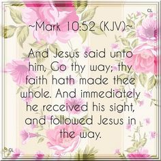Our Yahweh Rophe - The Lord Who Heals.  Thank You Jesus!