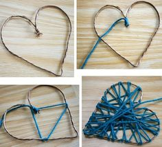 Quedaría lindo como regalo 💙 on We Heart It Bild von °¬°θ_LolaLol_θ °ฯ° entdeckt.) deine eigenen Bilder und Videos auf We Heart It<br> Diy Crafts Hacks, Diy Home Crafts, Diy Crafts To Sell, Handmade Crafts, Fun Crafts, Arts And Crafts, Paper Crafts, Valentines Day Decorations, Valentine Day Crafts