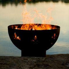 Fleur de Lis Fire Pit
