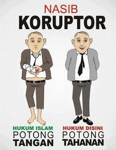 Nasib koruptor di Indonesia