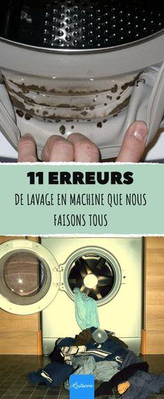 11 erreurs de lavage en machine que nous faisons tous