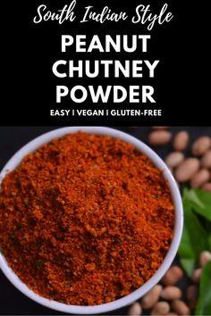 Indian Chutney Recipes, Indian Dessert Recipes, Red Chutney Recipe, Spicy Recipes, Curry Recipes, Cooking Recipes, Sabudana Recipes, Jaggery Recipes, Podi Recipe