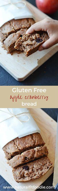 Gluten Free Apple Bread