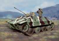 Bergepanzer 38(t) Hetzer Tank w/2cm Flak 38 Gun (2 in 1) 1/35 Dragon