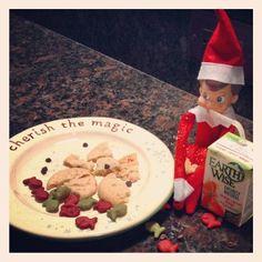 Elf on the Shelf: Late night snack.