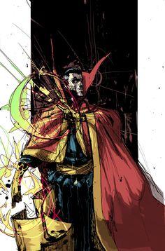 Dr. Strange by Riley Rossomo