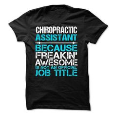 CHIROPRACTIC ASSISTANT - #womens hoodies #vintage shirts. WANT THIS => https://www.sunfrog.com/No-Category/CHIROPRACTIC-ASSISTANT-60226297-Guys.html?id=60505