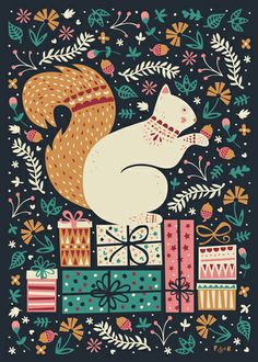 poppy & red are an illustration and pattern design duo from dublin, ireland who have just created their annual charity christmas card collection.