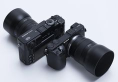 Image result for micro 4/3 attached to sony a