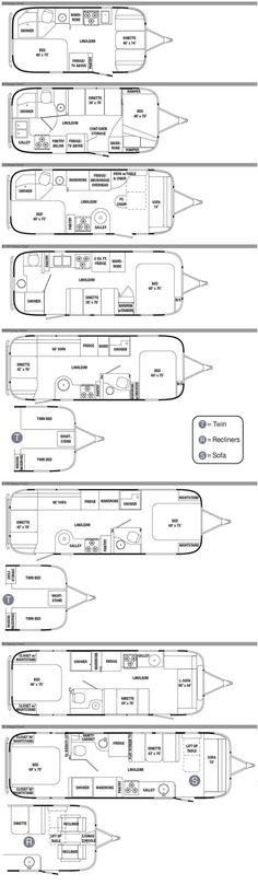 Airstream Flying Cloud planos remolque de viaje - 2012