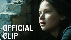 The Hunger Games: Mockingjay Part 1 – Official Fourth Clip >>>>my mouth is wide open with tears in my eyes