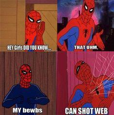 20 Hilarious 60s Spiderman Memes | SMOSH