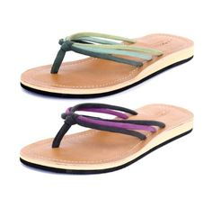 Amboss Damen Sandalen mit Echt-Leder und ergonomisch geformten Fußbett SW10-44 grün/lila Gr.37-43 - http://on-line-kaufen.de/amboss/amboss-damen-sandalen-mit-echt-leder-und-fussbett