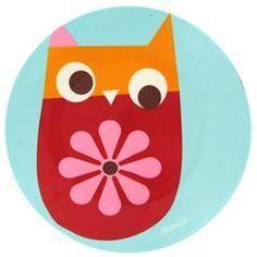 Owl Salad Plate
