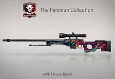 AWP | Hyper Beast | Falchion Case | CS:GO | SKIN