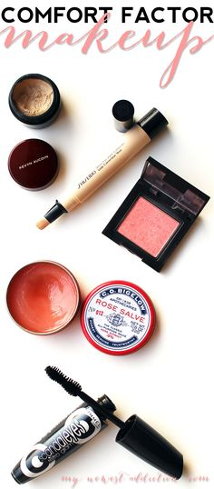 Comfort Factor Makeup and #GIVEAWAY - My Newest Addiction Beauty Blog www.mynewestaddiction.com