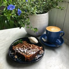 Banana Bread at The Verandah Newcastle Cafe Veranda Cafe, Newcastle, Banana Bread, Lunch, Breakfast, Ethnic Recipes, Food, Morning Coffee, Eat Lunch