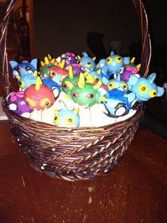 skylander cake pops