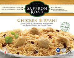 Saffron Road Chicken Biryani Entree