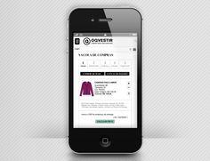 OQVESTIR | quadraCriativa  Site mobile carrinho