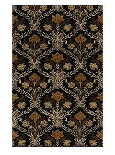 www.myhabit.com  Featuring an ornate medallion floral pattern, add elegance to any space with this hand-tufted design