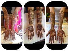 Mehndi by bridalhennaartist.com Bridal Mehndi Designs, Bridal Henna, Hair Styles, Hair Plait Styles, Hair Makeup, Hairdos, Haircut Styles, Hair Cuts, Hairstyles