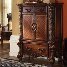 Acme Furniture Vendome Chest in Cherry | Local Furniture Outlet