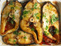 As receitas lá de casa: Perca do Nilo assada no forno
