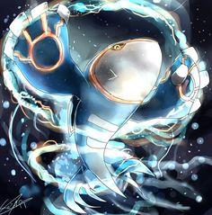 Kyogre by on deviantART Pokemon Rosa, Pokemon Pins, All Pokemon, Fanart Pokemon, Pokemon Stuff, Kyogre Pokemon, Dragon Type Pokemon, Mega Evolution, Pokemon Pictures