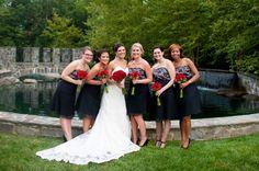 Red, White & Black Wedding Ideas | Heart Love Weddings