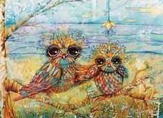 'Little Owl' by Karin Taylor