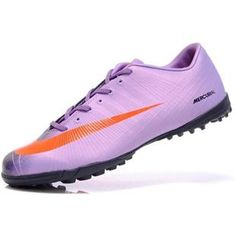 http://www.asneakers4u.com Cheap New style Nike Mercurial Vapor Superfly II Victory TF Soccer Shoes Football Boots In Purple Orange Blackout of stock