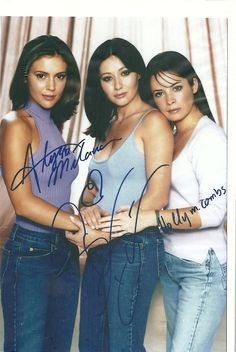 Alyssa Milano, Shannen Doherty & Holly Marie Combs