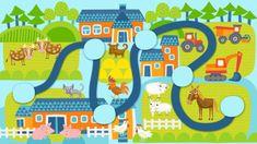 Pikku Kakkosen Seikkailukoneen tulostettavat kuvat | Pikku Kakkonen | Lapset | yle.fi Crafts For Kids, Kids Rugs, Activities, Frame, Illustration, Decor, Crafts For Children, Picture Frame, Decoration