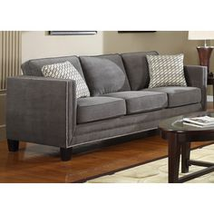 TRIBECCA HOME Knightsbridge Tufted Scroll Arm Chesterfield Sofa - Overstock Shopping - Great Deals on Tribecca Home Sofas & Loveseats