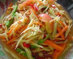 Thai Food # Papaya Salad # Som Tam