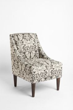 Chocolate+Damask+Flourish+Chair Urban Outfitters