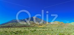 Qdiz Stock Photos Teide Volcano Landscape on Tenerife,  #blue #Canary #island #landmark #landscape #mountain #national #natural #nature #park #peak #rock #sky #Spain #spring #summer #Teide #Tenerife #Travel #volcanic #volcano