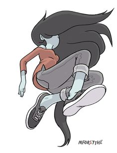 Marceline, the Vampire Queen by Matt Forsythe