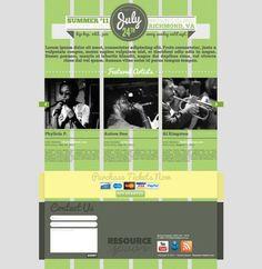 Attractive Events Website Template PSD - http://www.welovesolo.com/attractive-events-website-template-psd/