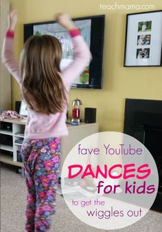 Have kids who need to get some energy out? These YouTube dances for kids are fun indoor moving and grooving activities for kids to get the wiggles out! It's a great way fro them to unwind after a day of school or just to get energy out during the winter! #teachmama #activitiesforkids #dancing #activity #kidsactivities #kids #funforkids #youtube #parents #dance #activities