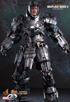 Archaic homemade Mech-Suit (Hot Toys : Iron Man 2 - Whiplash Mark II 1/6th scale Collectible Figure)
