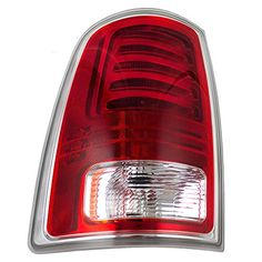 Drivers LED Taillight Tail Lamp Lens with Chrome Trim Replacement for RAM Pickup Truck 68093079AC * Visit the affiliate link Amazon.com on image for more details.