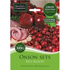 Red Baron Onion Sets 300g | Poundland
