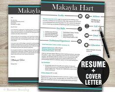Teacher Resume Template Word  PROFESSIONAL by BusinessBranding, $15.00