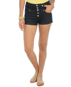 5 Button High Waisted Short from WetSeal.com is gonna be mine <3