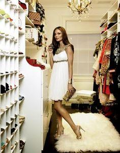 Georgina Chapman for Marchesa closet