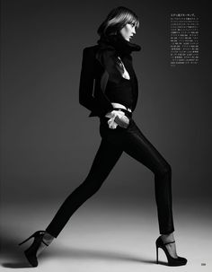 Karlie Kloss Poses for Hedi Slimane in Vogue Japan June 2013 | Fashion Gone Rogue: The Latest in Editorials and Campaigns